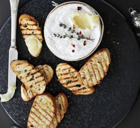 Oozy Baked Camembert