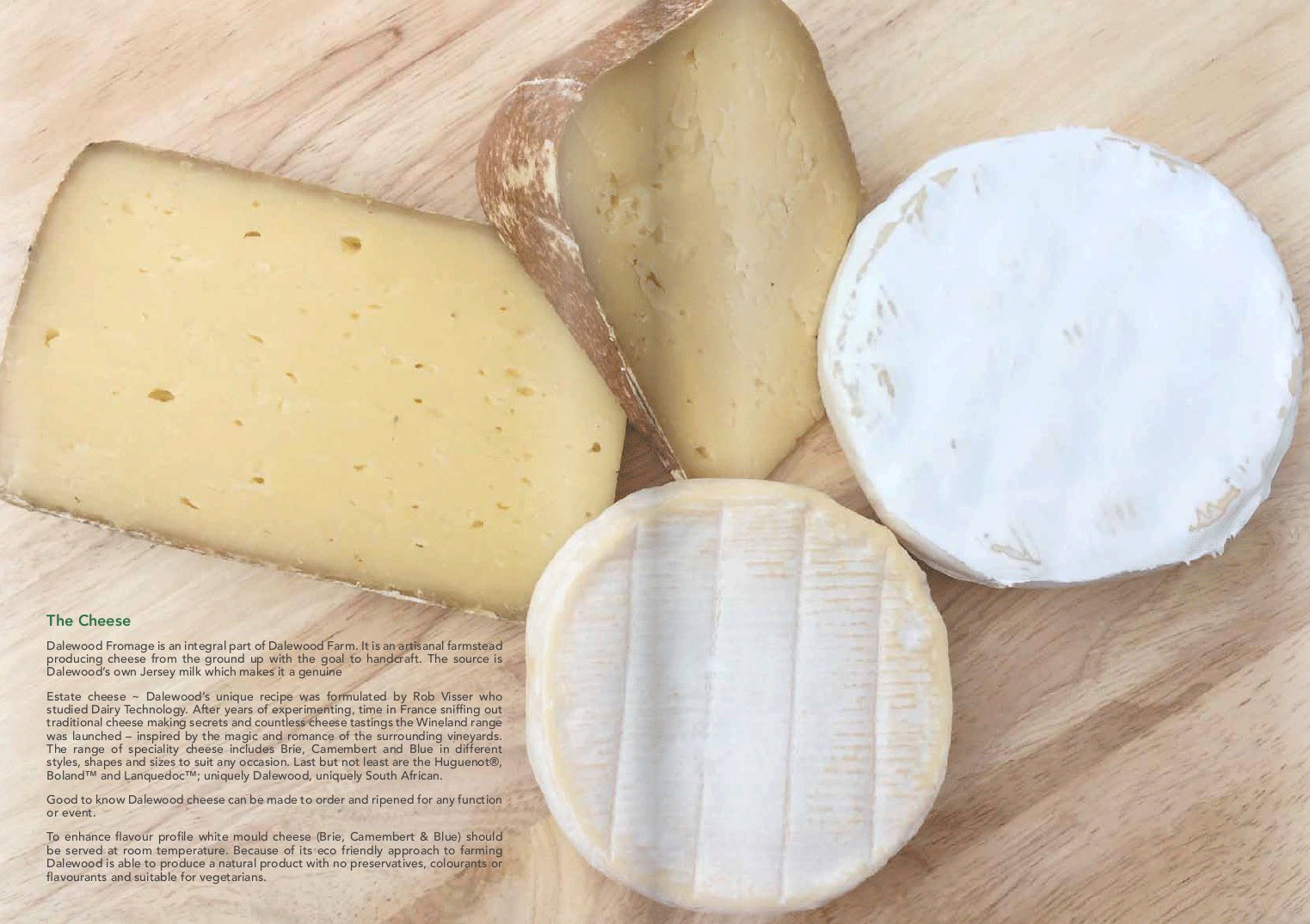 Dalewood Fromage in Fromage Magazine
